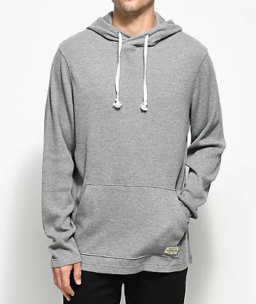 Dravus Thermo Heather Grey Hoodie