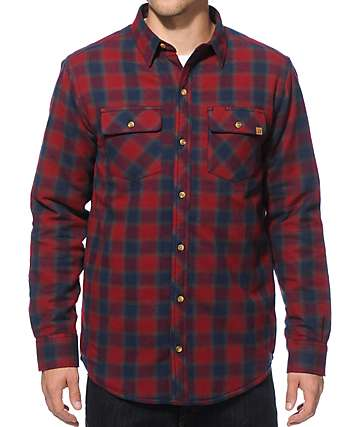 Dravus Thomas Quilted Flannel Shirt