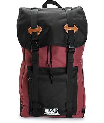 Dravus Traverse Burgundy Backpack