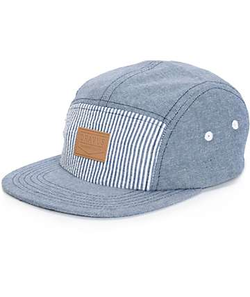 Dravus Weekender Chambray 5 Panel Hat