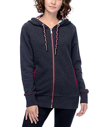 Dravus Winchester Black Zip Up Hoodie