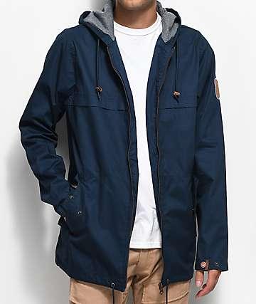 Dravus Woodland Navy Anorak Jacket