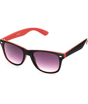 Dream Black & Burgundy Sunglasses