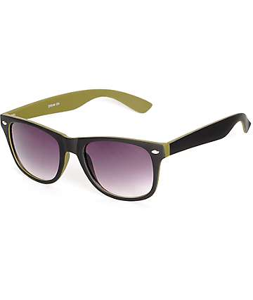 Dream Black & Olive Sunglasses