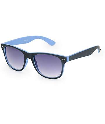 Dream On Black & Blue Sunglasses