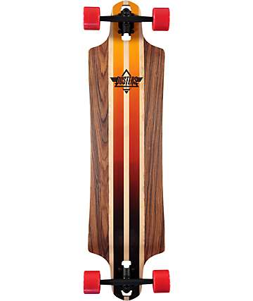 "Dusters Burn 38"" Drop Through Longboard Complete"