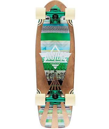 "Dusters Cazh Tribe 28.5""  Cruiser Complete Skateboard"