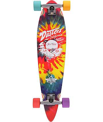 "Dusters Cruisin Tie Dye Mini Pin 31.5""  Cruiser Complete Skateboard"