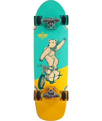 "Dusters Derby 31"" Cruiser Skateboard Complete"