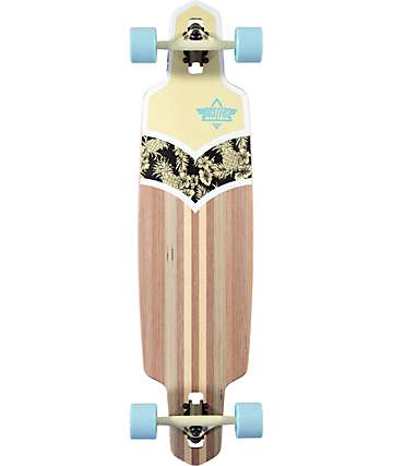 "Dusters Duke 38"" Drop Through Longboard Complete"