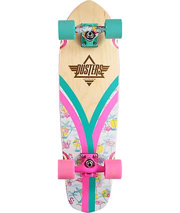 "Dusters Flashback Flamingo 28"" cruiser completo"
