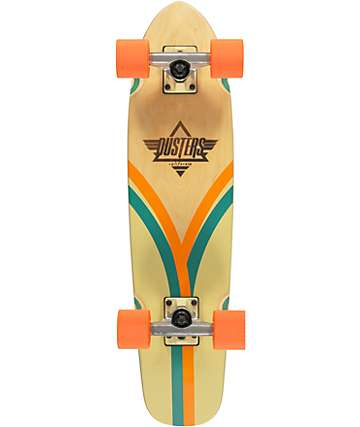 "Dusters Flashback Ivory & Orange 28"" Cruiser Complete"