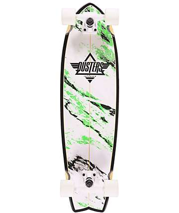 "Dusters Kosher Glow In The Dark 32.5"" Cruiser Complete Skateboard"