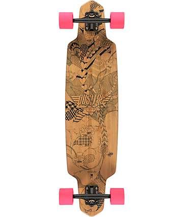 """Dusters Lella Bamboo 38"""" Longboard Complete"""