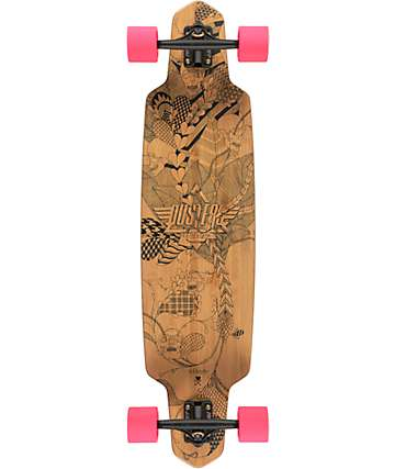 "Dusters Lella Bamboo 38""  Longboard Complete"
