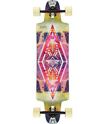 "Dusters Lite 36"" Drop Through Longboard Complete"