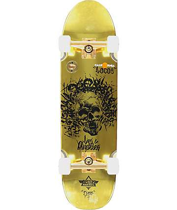 "Dusters Locos Chaz 32""  Cruiser Complete Skateboard"
