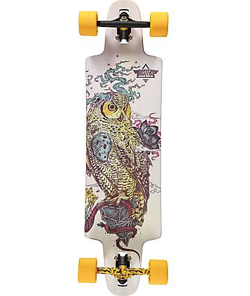 "Dusters Regrowth 36""  Drop Through Longboard Complete"