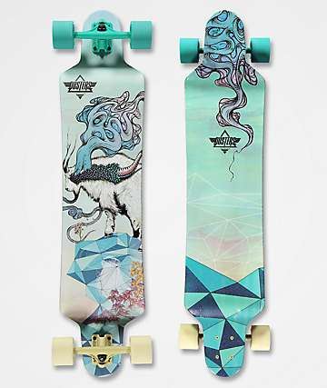"Dusters Seek 41""  longboard drop down completo"