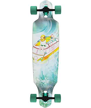 "Dusters Sunken 38""  Drop Through Longboard Complete"