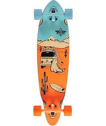 "Dusters Wagon Mini Pin 33"" Longboard Complete"