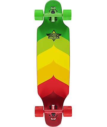 "Dusters Wake Mini 32"" Rasta Cruiser Complete"