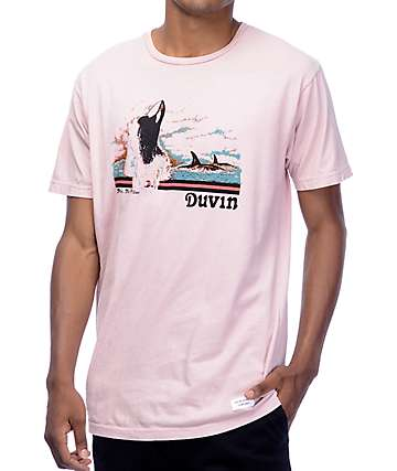 Duvin Design All Killer Light Pink T-Shirt