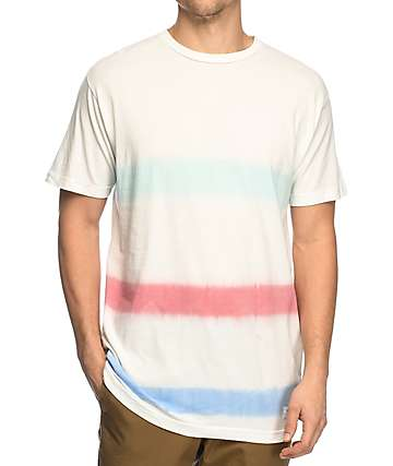 Duvin Design Harper Stripe White T-Shirt