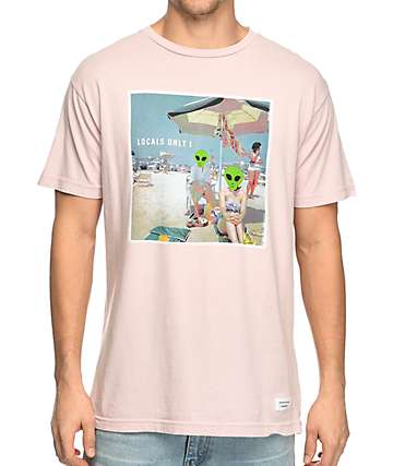 Duvin Design Locals Only! Pink T-Shirt