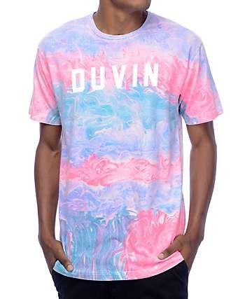 Duvin Design Marble Multi-Colored T-Shirt