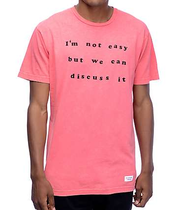 Duvin Design Not Easy Pink T-Shirt