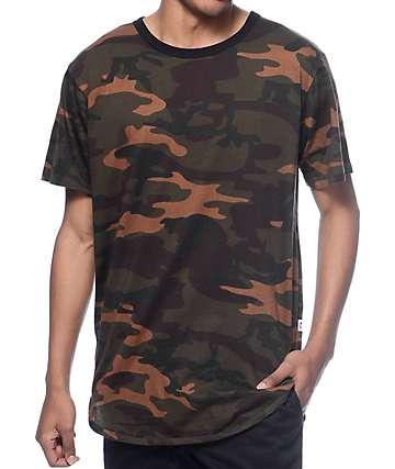 EPTM Basic camiseta larga de camuflaje oscuro