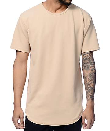 EPTM Liverpool Tan Stone Elongated T-Shirt