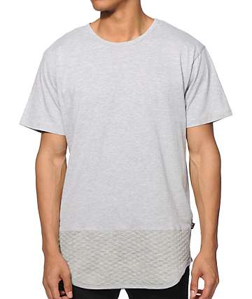 EPTM Quilted Drop Tail T-Shirt