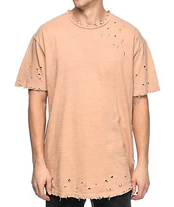 EPTM Slub OG 2.0 Dusty Pink Elongated T-Shirt