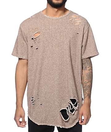 EPTM Thrasher Elongated French Terry T-Shirt
