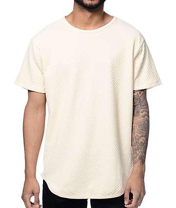 EPTM Waffle OG Natural camiseta alargada