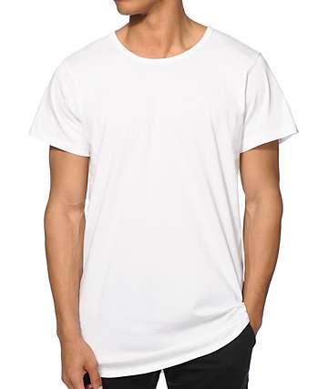 EPTM. Basic camiseta larga con cola caída