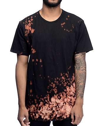 EPTM. Bleach OG camiseta alargada en negro