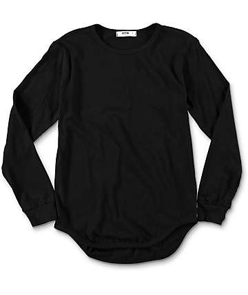 EPTM. Boys OG Black Elongated Longsleeve T-Shirt