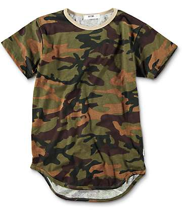 EPTM. Boys OG Fort Knox Camo Elongated T-Shirt