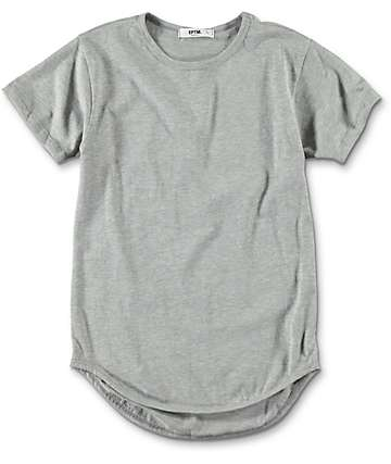 EPTM. Boys OG Heather Grey Elongated T-Shirt