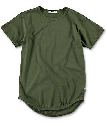 EPTM. Boys OG Olive Elongated T-Shirt