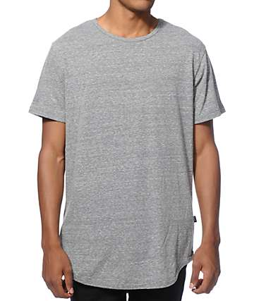 EPTM. Elongated Basic Drop Tail T-Shirt