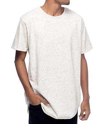 EPTM. Elongated Basic Oreo Natural T-Shirt