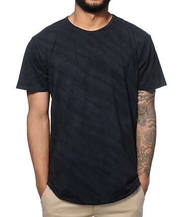 EPTM. Elongated Tiger Tie Dye Long T-Shirt