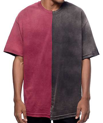 EPTM. Joker Split Burgundy & Black T-Shirt