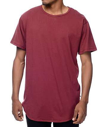 EPTM. OG Burgundy Elongated T-Shirt