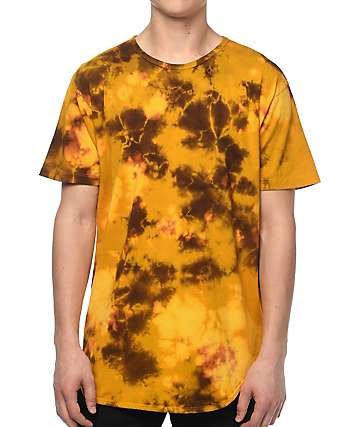 EPTM. OG Mustard Dye Elongated T-Shirt