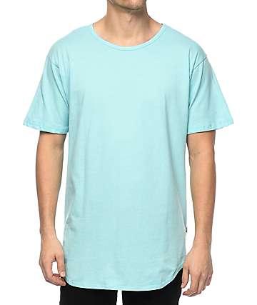 EPTM. OG camiseta alargada en azul claro
